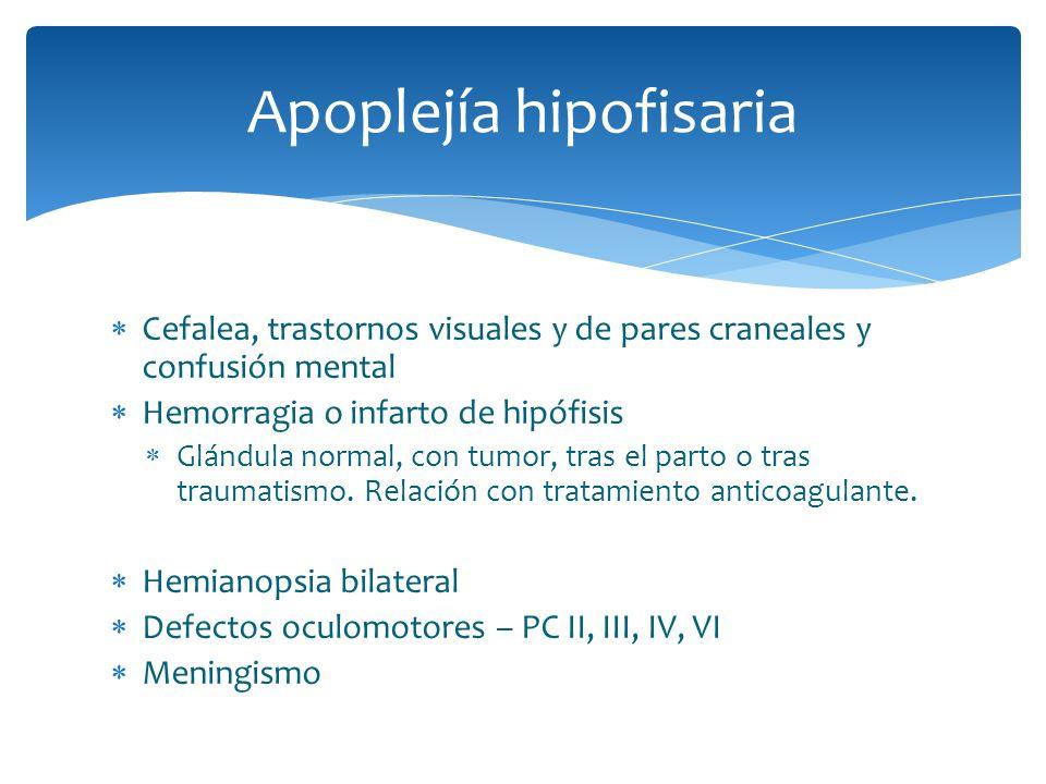 Apoplejía hipofisaria