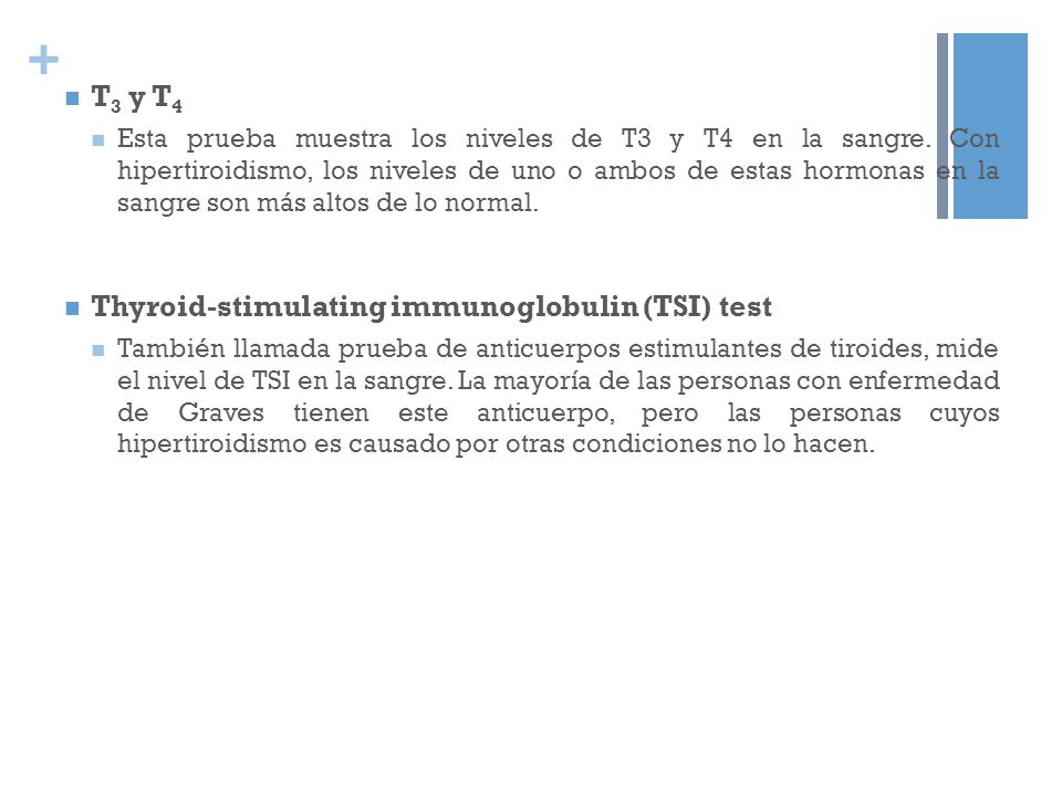 Thyroid-stimulating immunoglobulin (TSI) test