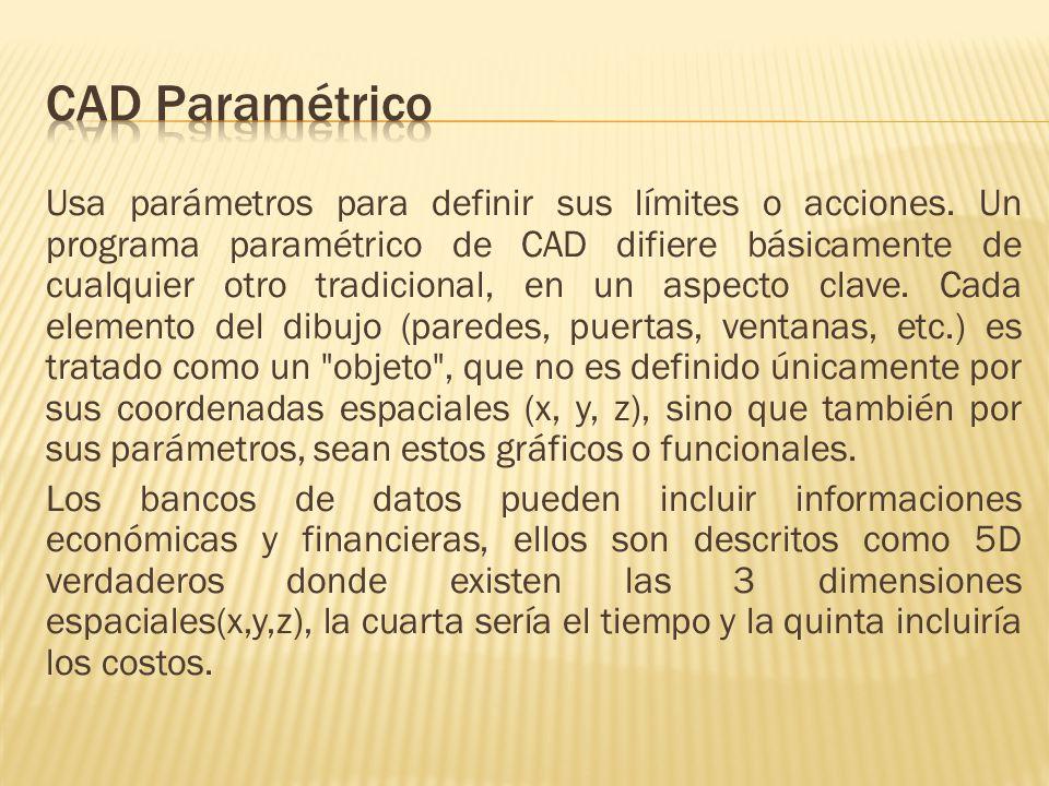 CAD Paramétrico