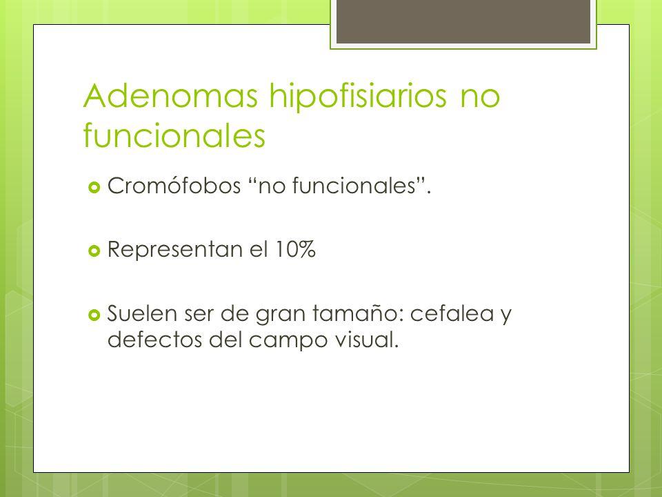 Adenomas hipofisiarios no funcionales