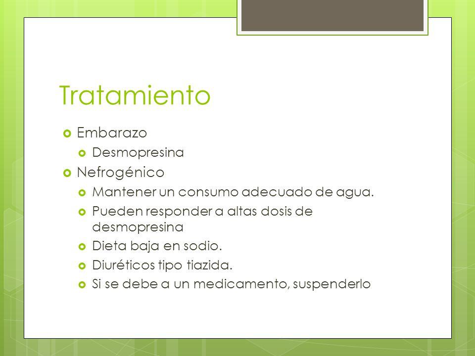 Tratamiento Embarazo Nefrogénico Desmopresina