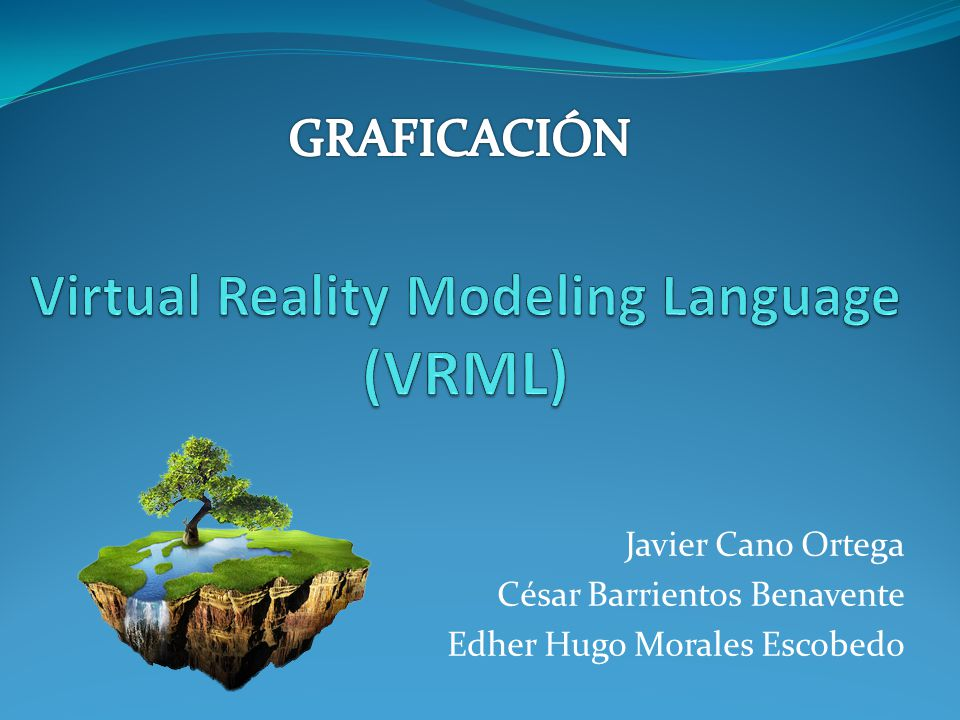 Virtual Reality Modeling Language (VRML)