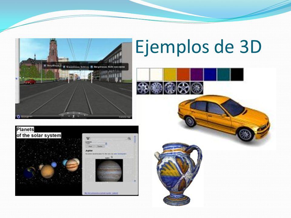 Ejemplos de 3D