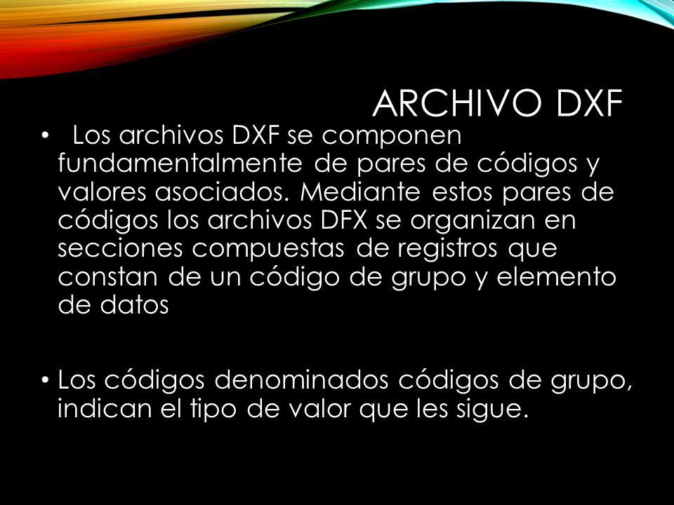 ARCHIVO DXF