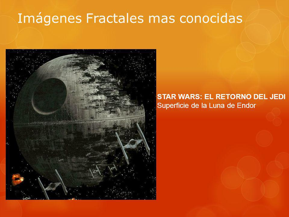 Imágenes Fractales mas conocidas