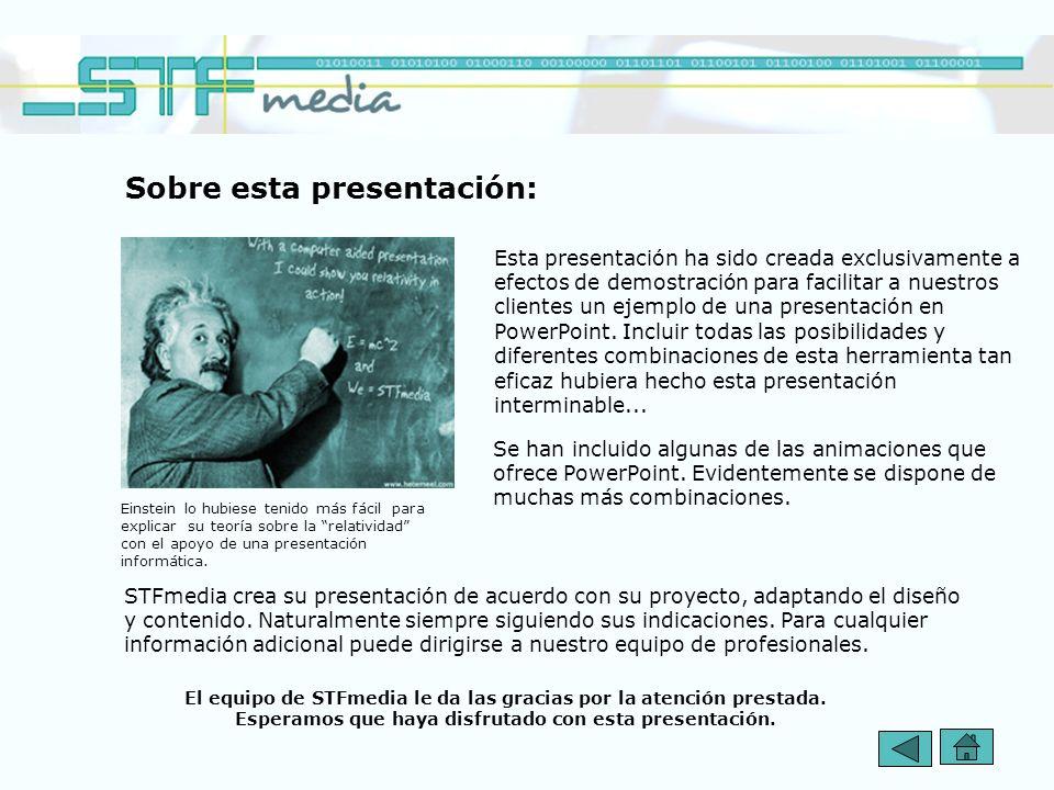 Sobre esta presentación: