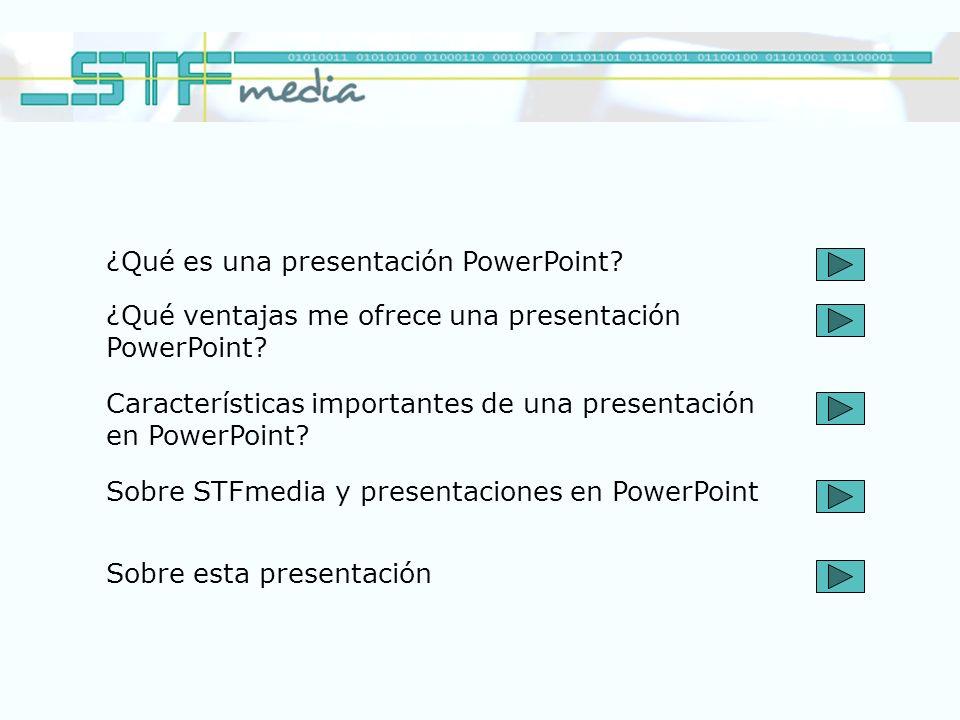 ¿Qué es una presentación PowerPoint
