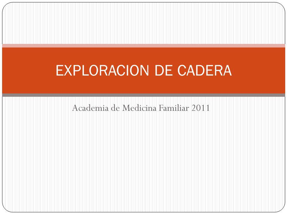 Academia de Medicina Familiar 2011