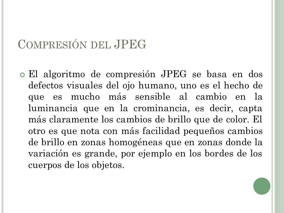 Compresión del JPEG