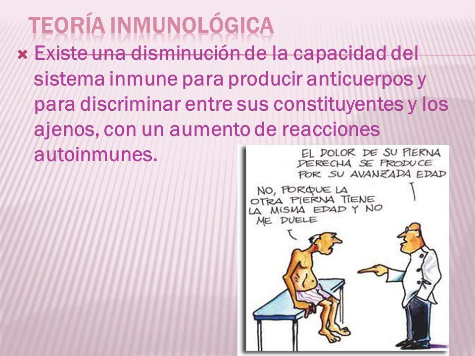 Teoría inmunológica