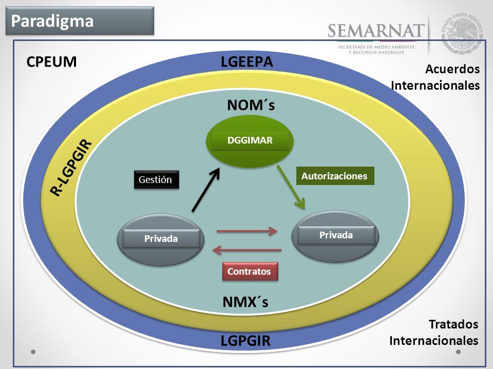 Paradigma CPEUM NOM´s R-LGPGIR NMX´s LGPGIR Acuerdos Internacionales