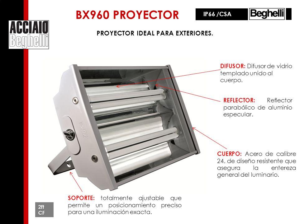 BX960 PROYECTOR PROYECTOR IDEAL PARA EXTERIORES. IP66 /CSA