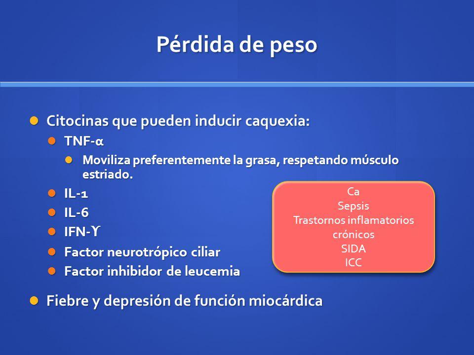 Trastornos inflamatorios crónicos