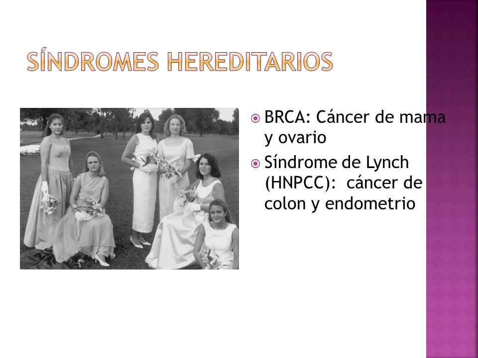 Síndromes Hereditarios