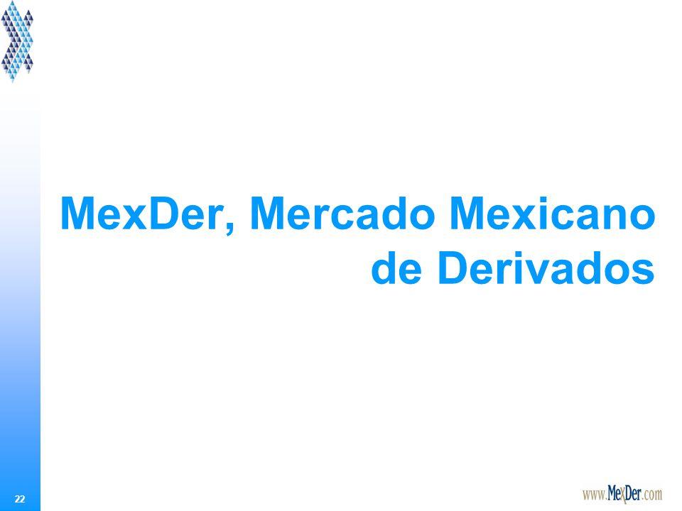 MexDer, Mercado Mexicano de Derivados, S. A. de C. V