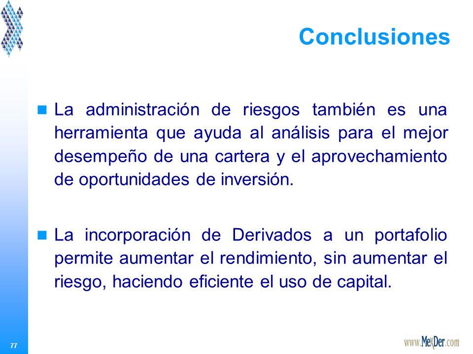 Conclusiones Es de la mayor importancia, conocer estos instrumentos, considerando: Que existen en México.