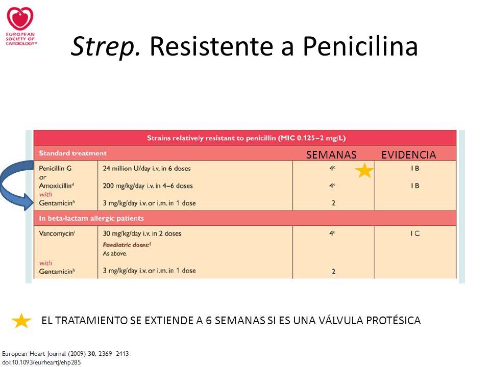 Strep. Resistente a Penicilina