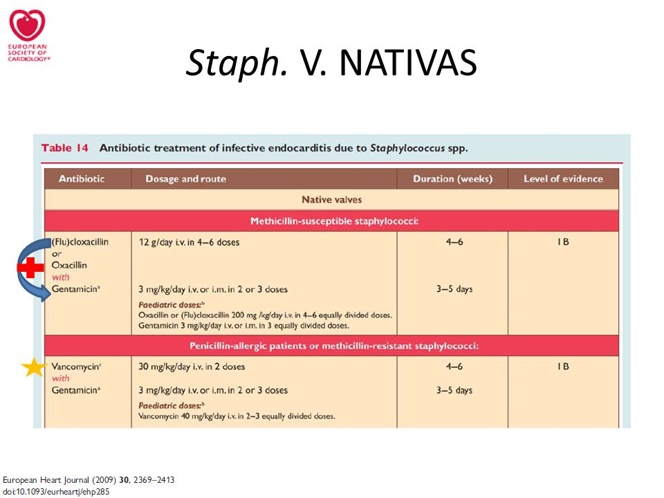Staph. V. NATIVAS