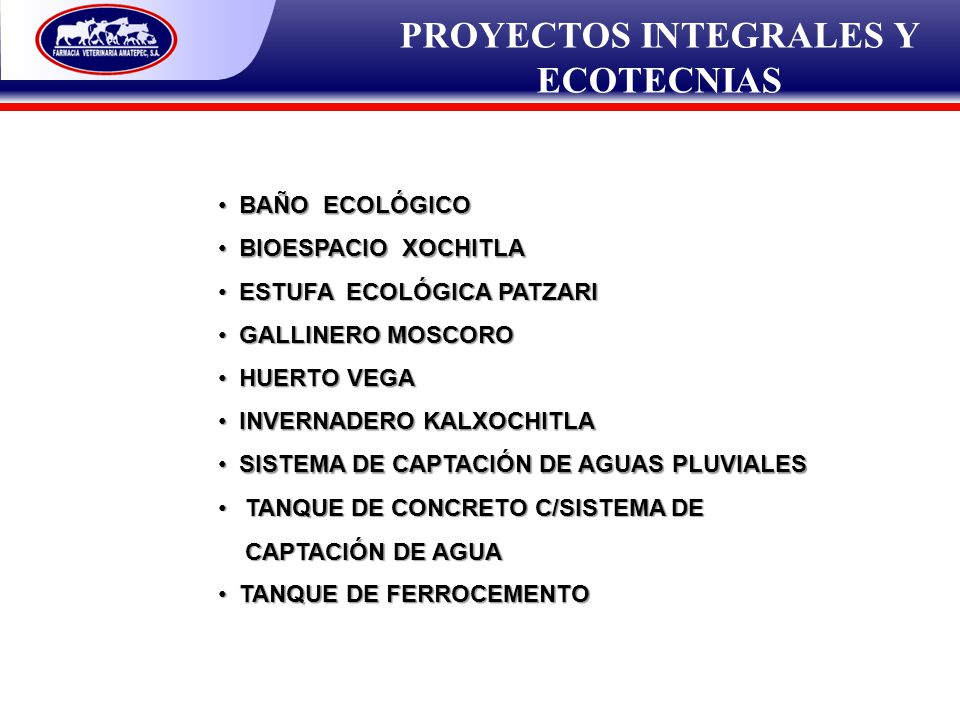 PROYECTOS INTEGRALES Y ECOTECNIAS