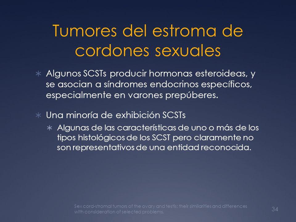 Tumores del estroma de cordones sexuales