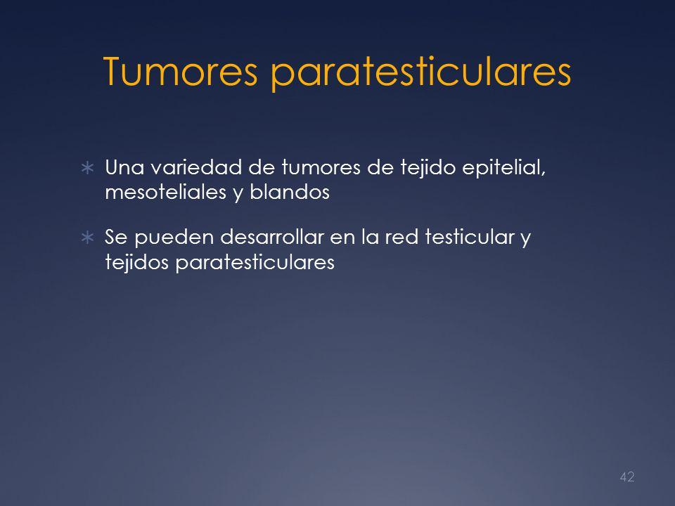 Tumores paratesticulares