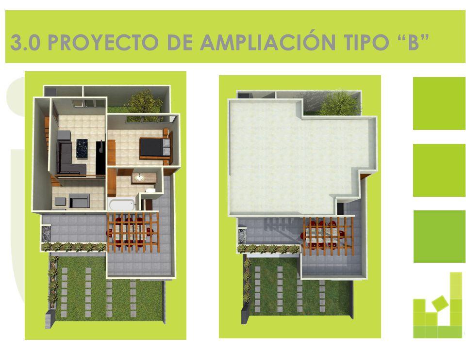 3.0 PROYECTO DE AMPLIACIÓN TIPO B