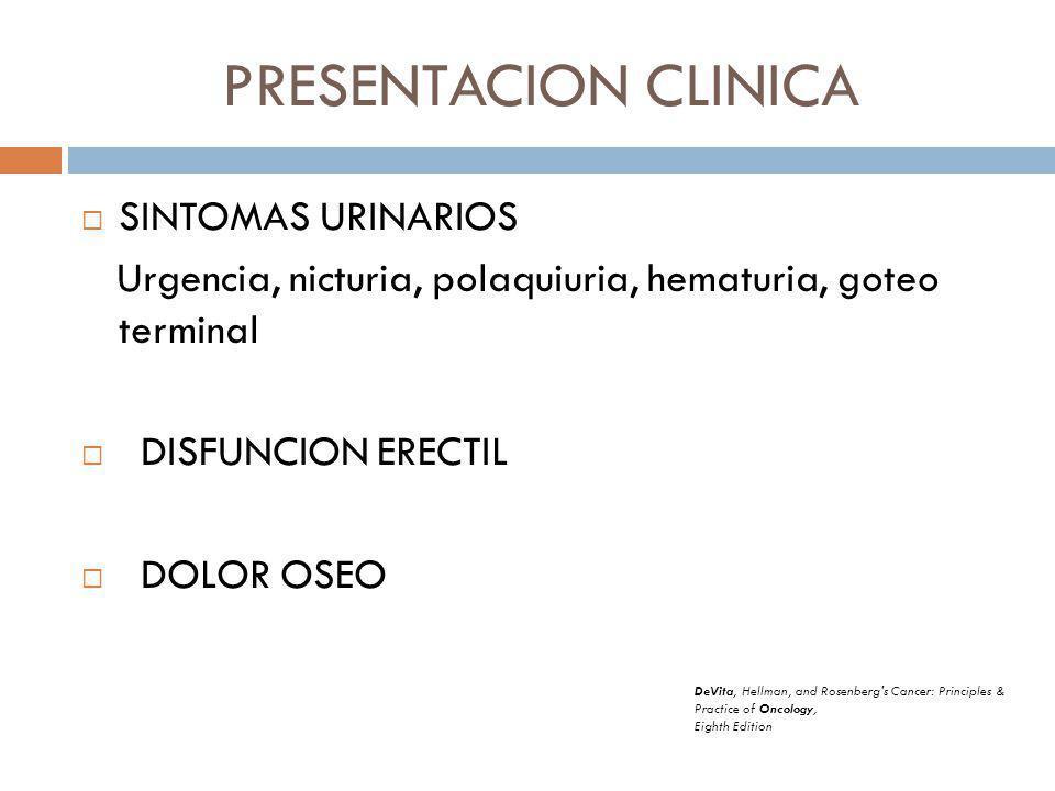 PRESENTACION CLINICA SINTOMAS URINARIOS