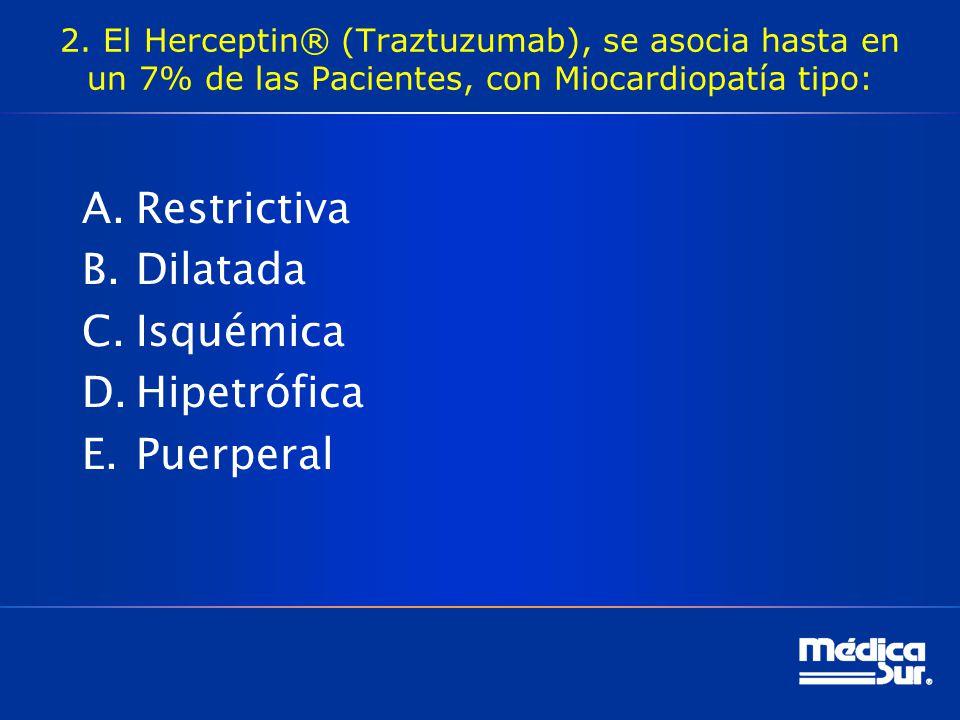 Restrictiva Dilatada Isquémica Hipetrófica Puerperal