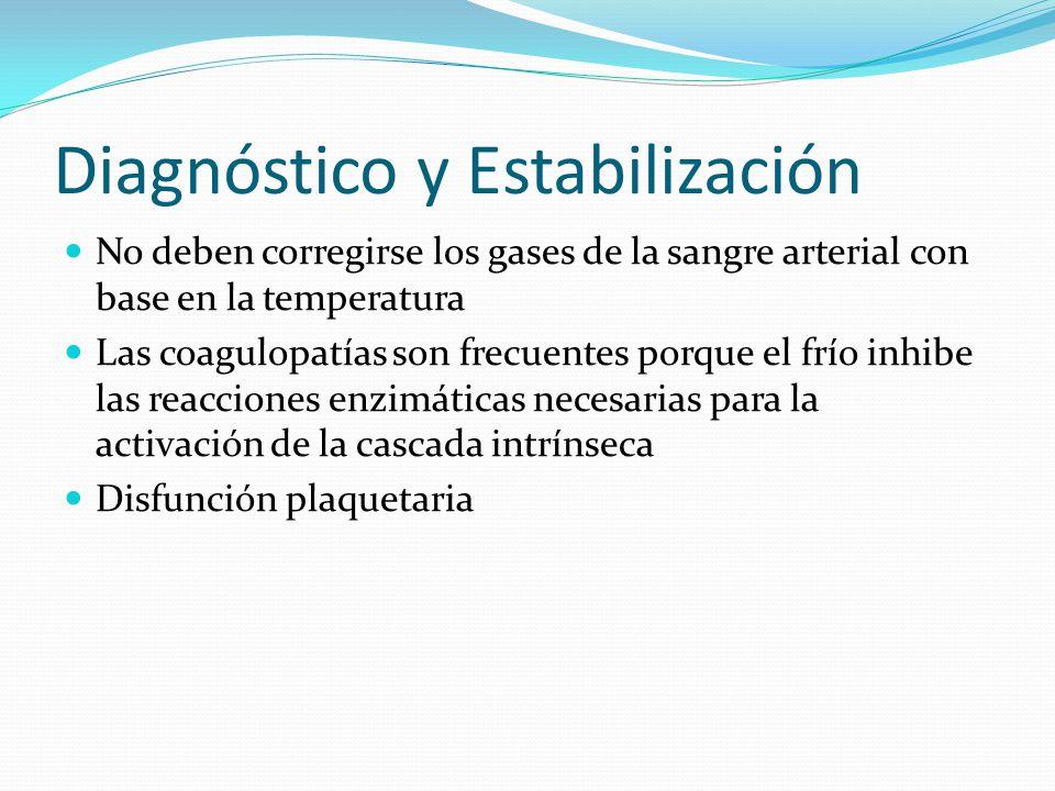 Diagnóstico y Estabilización