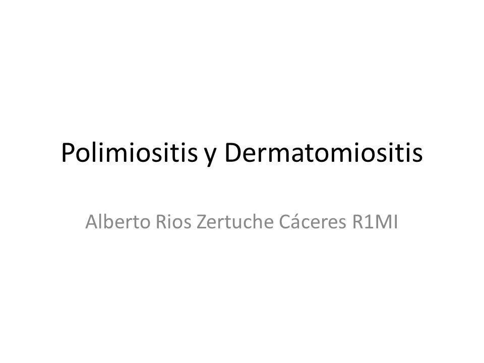 Polimiositis y Dermatomiositis