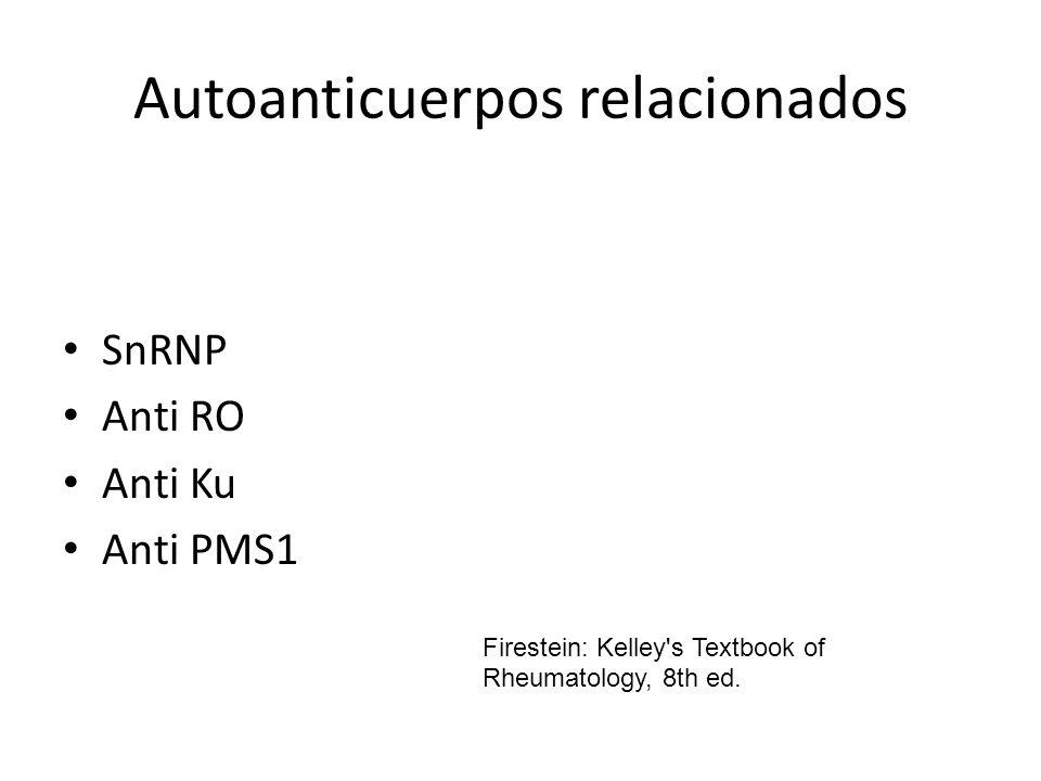 Autoanticuerpos relacionados
