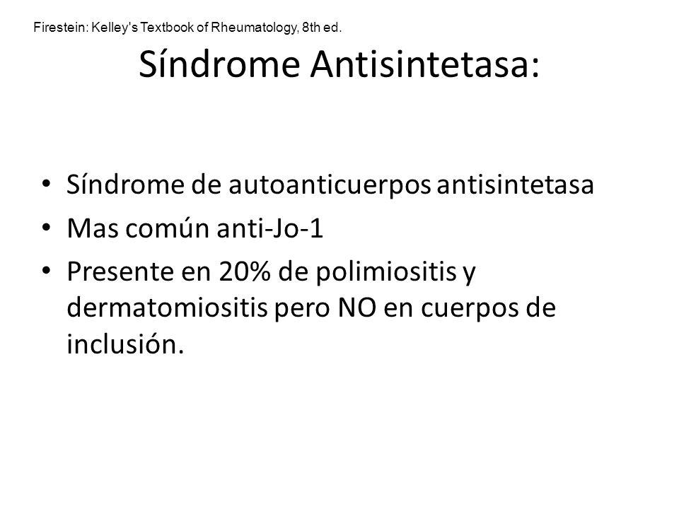 Síndrome Antisintetasa: