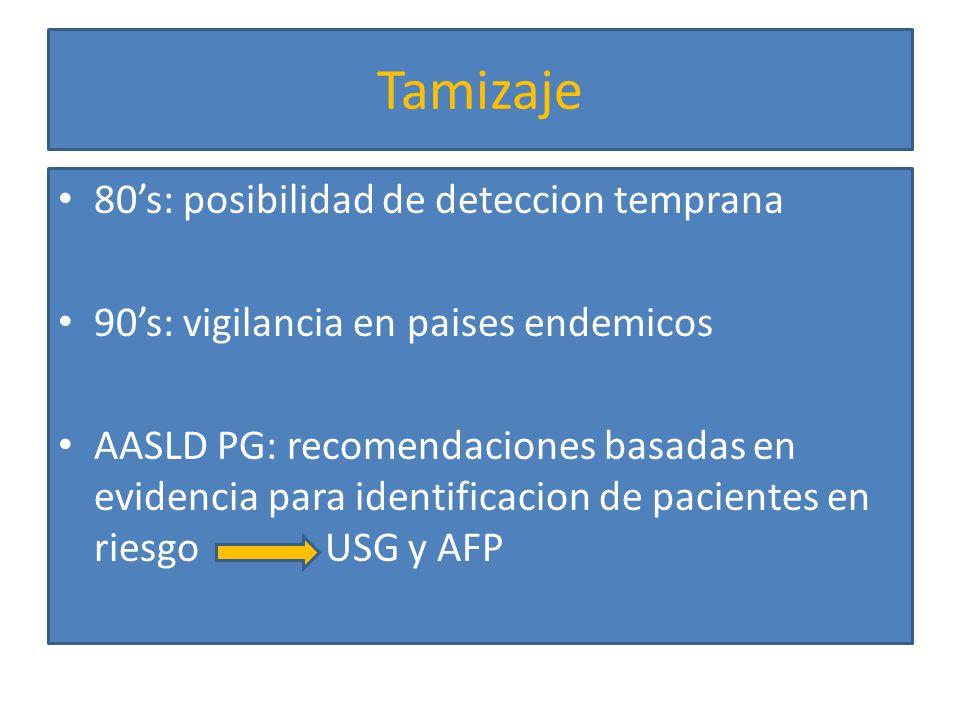 Tamizaje 80's: posibilidad de deteccion temprana
