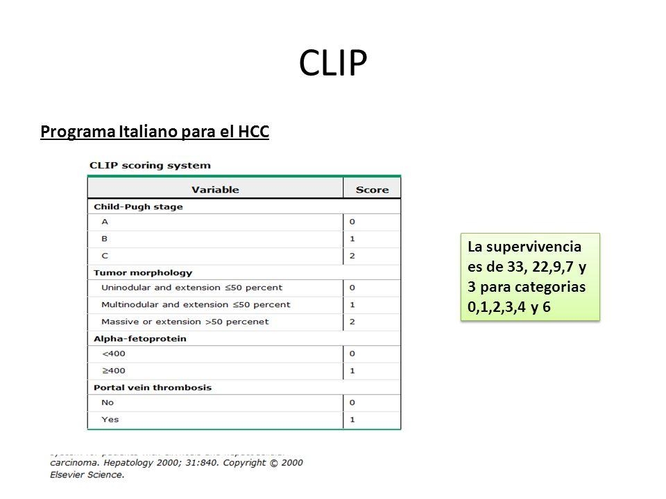 CLIP Programa Italiano para el HCC