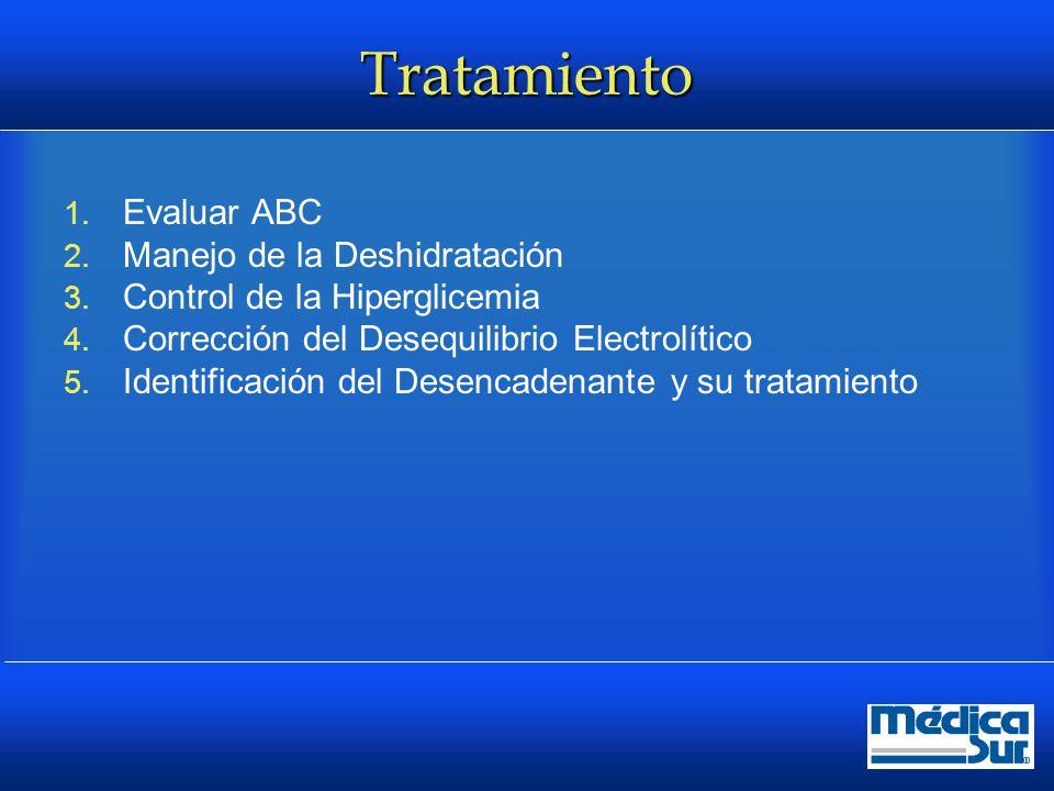 Tratamiento Evaluar ABC Manejo de la Deshidratación