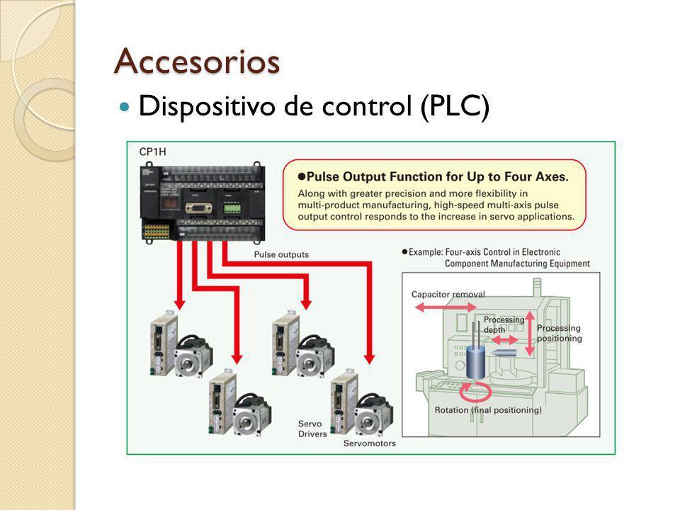 Accesorios Dispositivo de control (PLC)