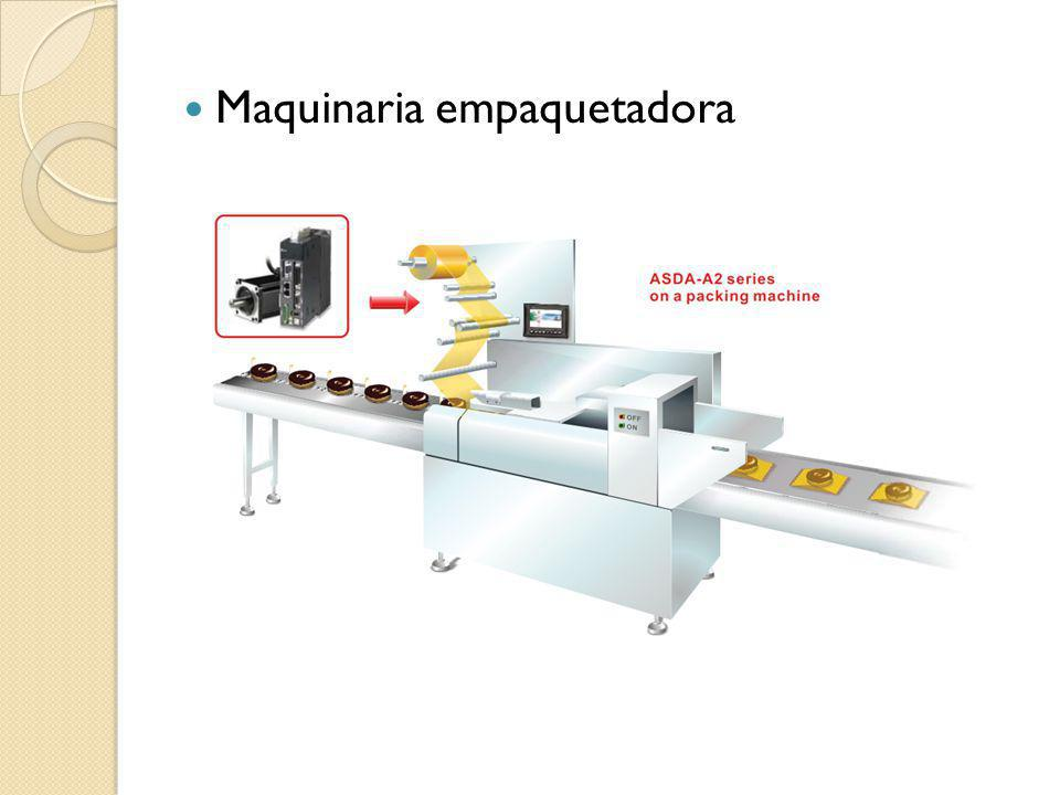 Maquinaria empaquetadora