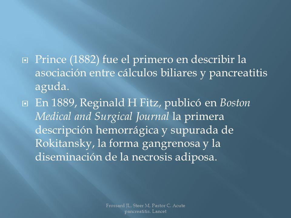 Frossard JL, Steer M, Pastor C. Acute pancreatitis. Lancet