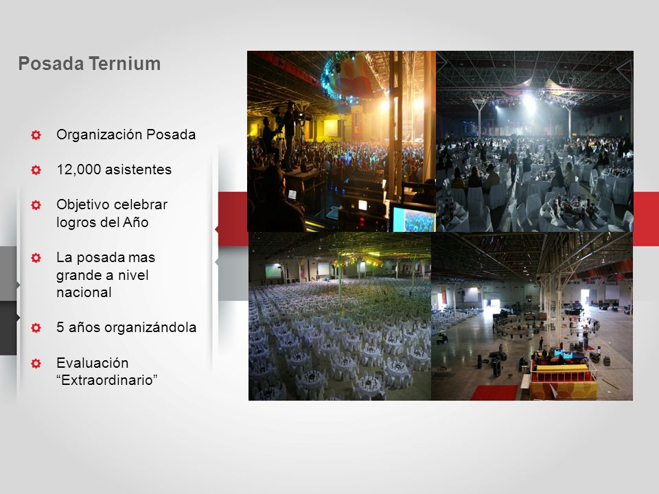 Posada Ternium Organización Posada 12,000 asistentes