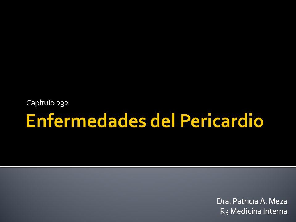 Enfermedades del Pericardio
