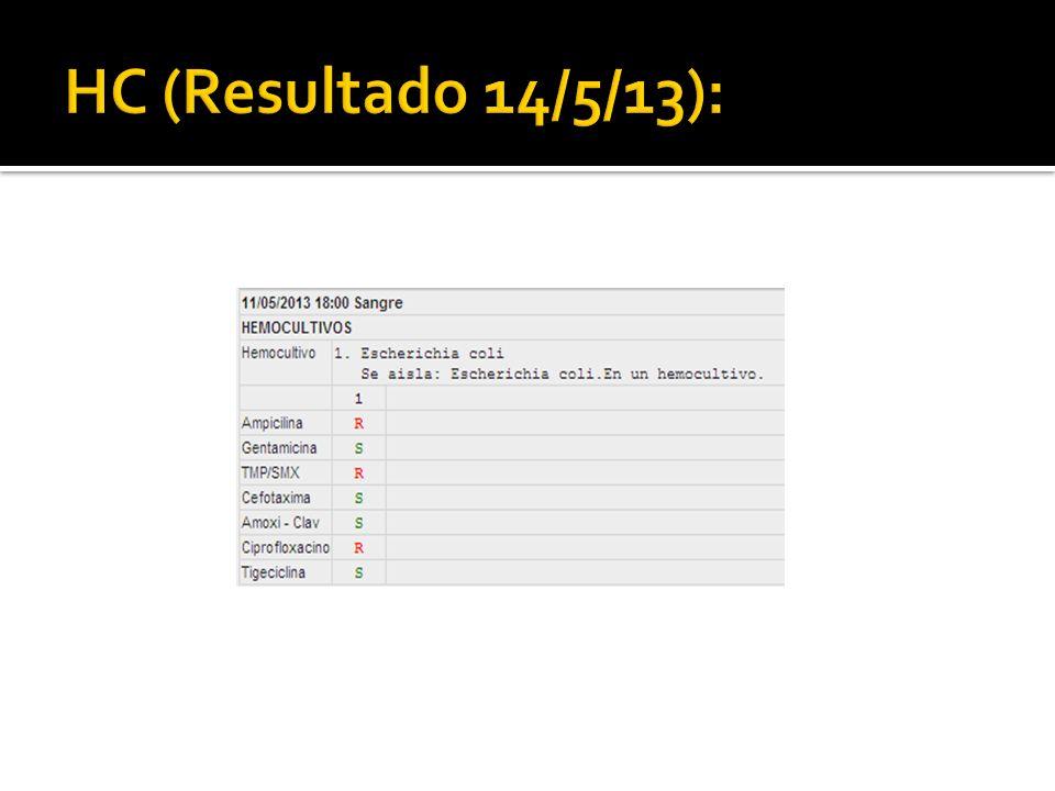 HC (Resultado 14/5/13):
