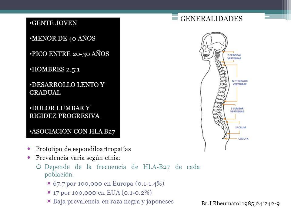 GENERALIDADES GENTE JOVEN MENOR DE 40 AÑOS PICO ENTRE 20-30 AÑOS