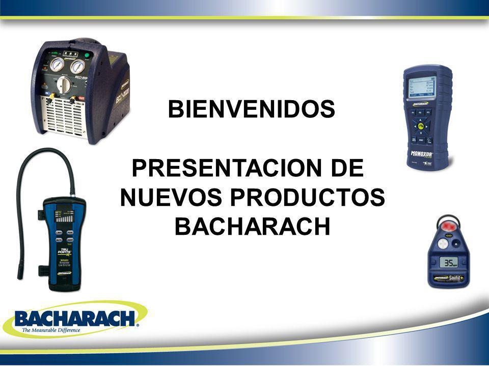 PRESENTACION DE NUEVOS PRODUCTOS BACHARACH