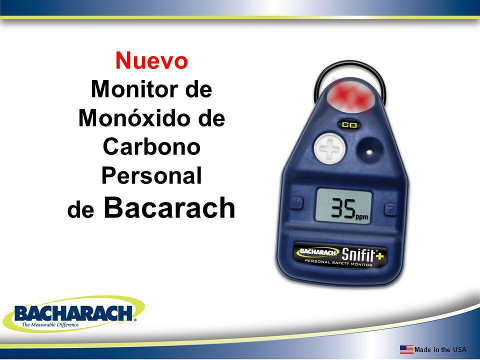 Nuevo Monitor de Monóxido de Carbono Personal de Bacarach