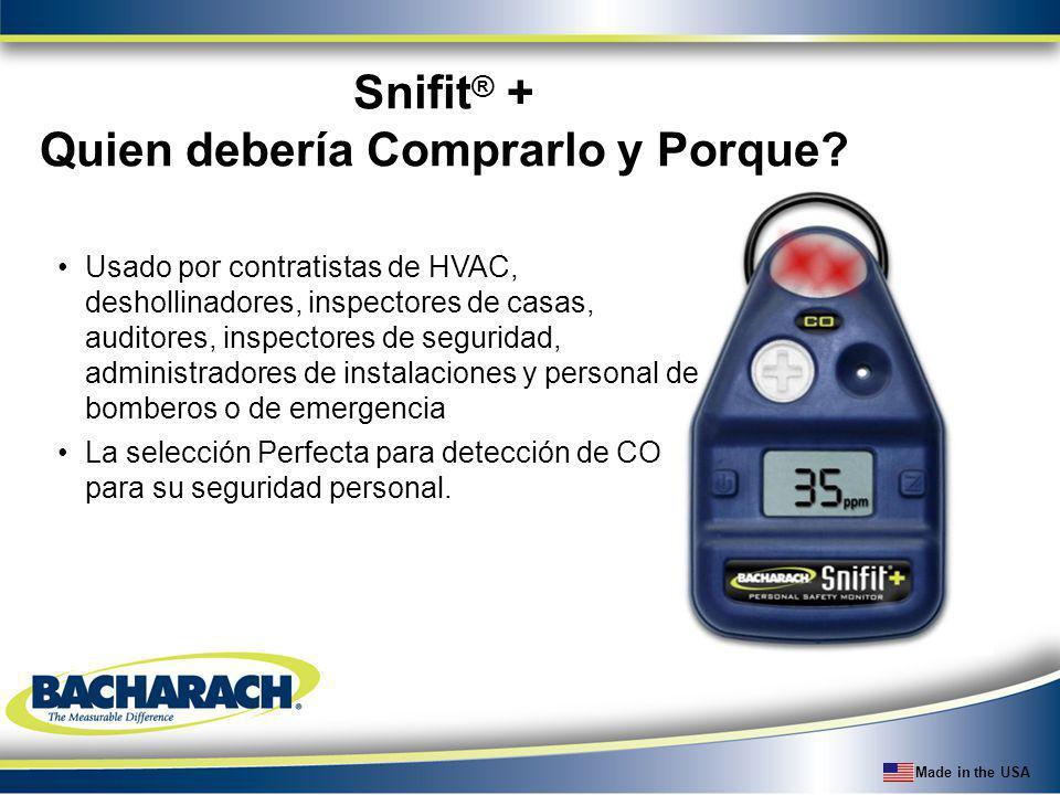 Snifit® + Quien debería Comprarlo y Porque