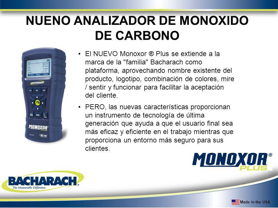 NUENO ANALIZADOR DE MONOXIDO DE CARBONO