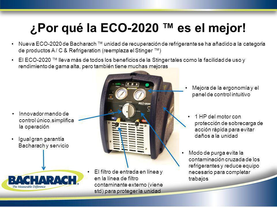 ¿Por qué la ECO-2020 ™ es el mejor!