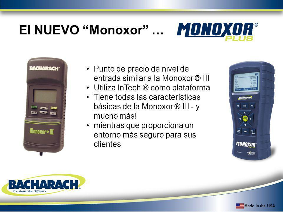 El NUEVO Monoxor … Punto de precio de nivel de entrada similar a la Monoxor ® III. Utiliza InTech ® como plataforma.
