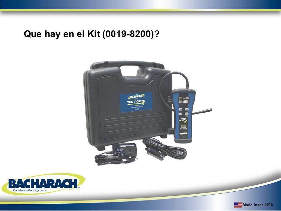 Que hay en el Kit (0019-8200)