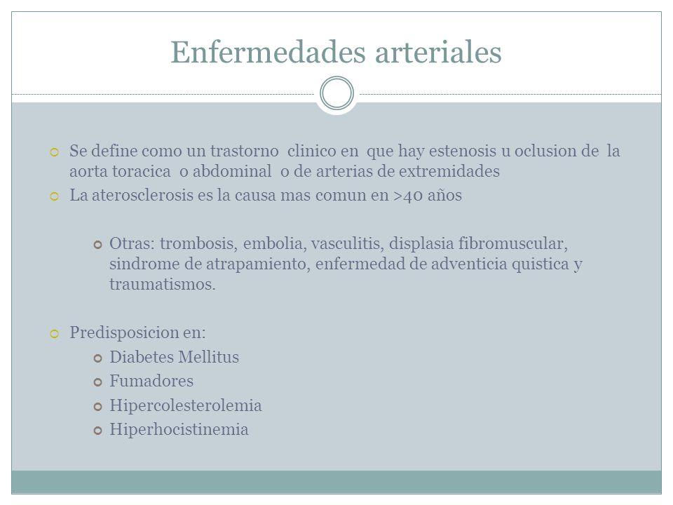 Enfermedades arteriales
